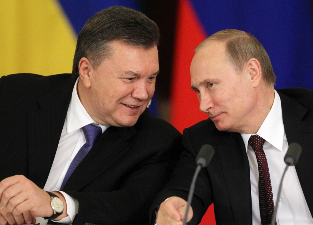 Image: Amidst Protests In Ukraine President Yanukovych Meets With Putin