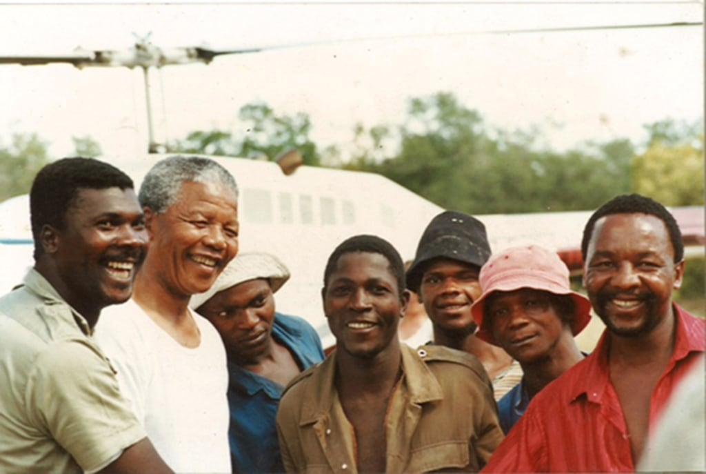 Image: Nelson Mandela at Londolozi.