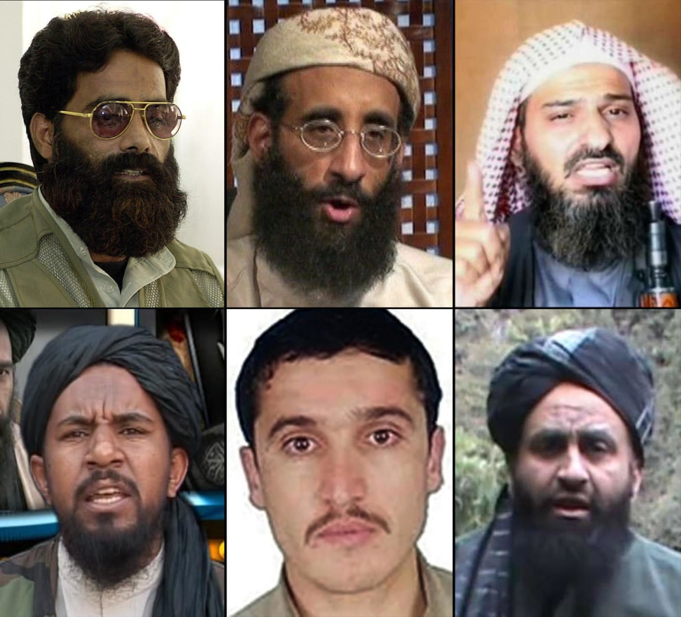 Image: Deceased al Qaeda members