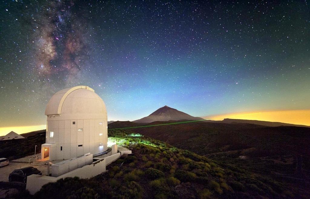 Image: Tenerife observatory