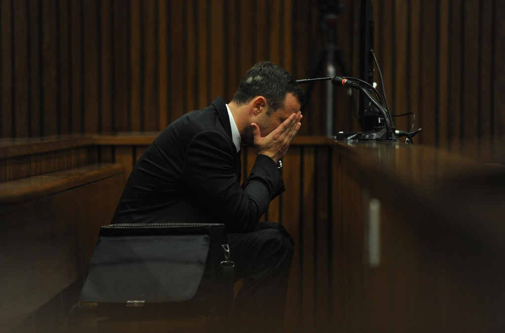 Image: Oscar Pistorius on Thursday
