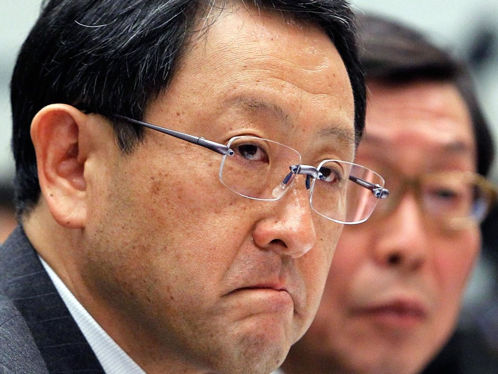 Image: Toyota CEO testifies before House panel on risk of Toyota gas pedals