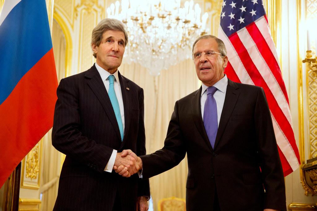 Image: John Kerry, Sergey Lavrov