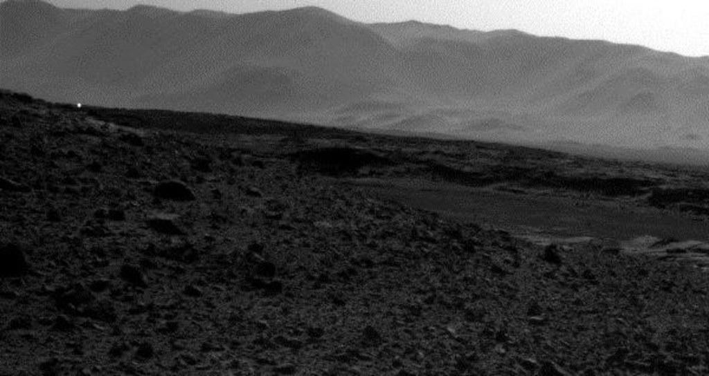 Image: Mars view