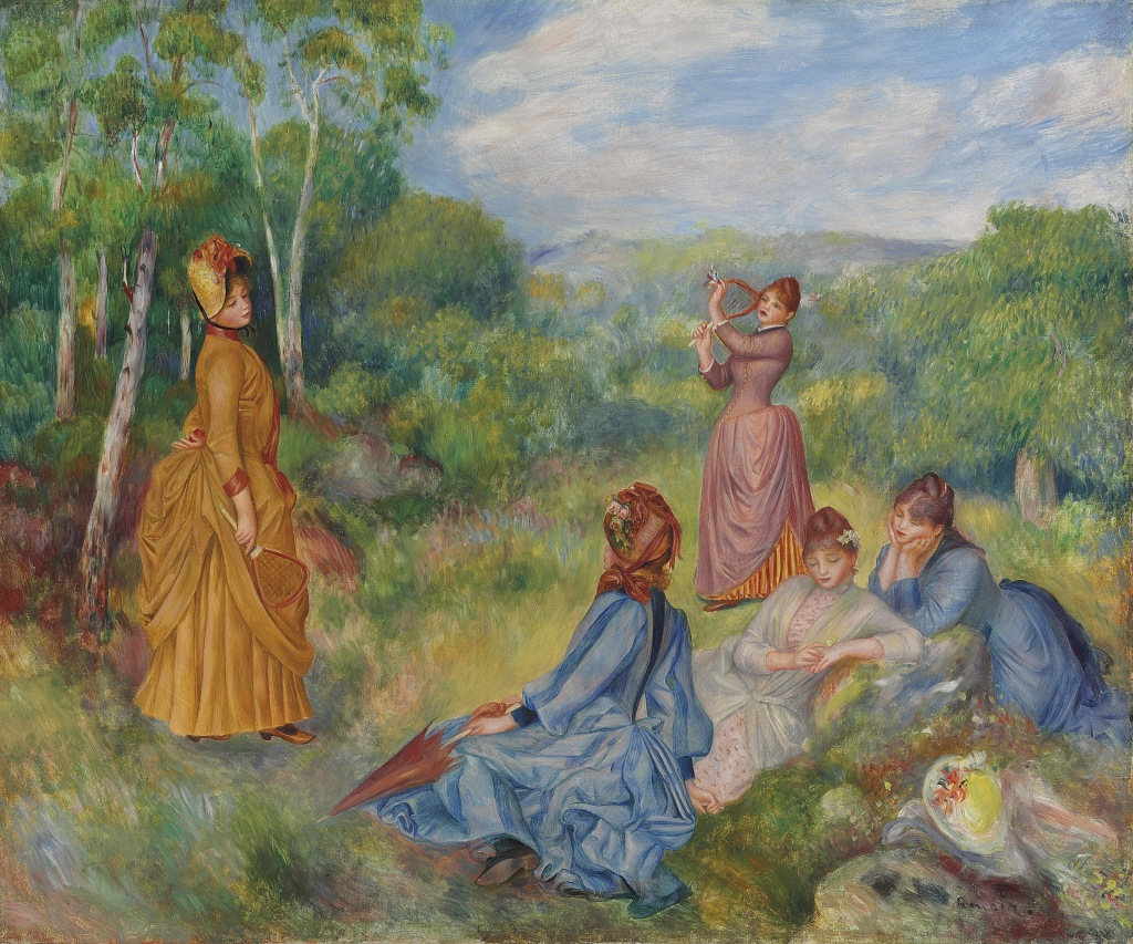 "Renoir's ""Girls Playing Battledore and Shuttlecock"""