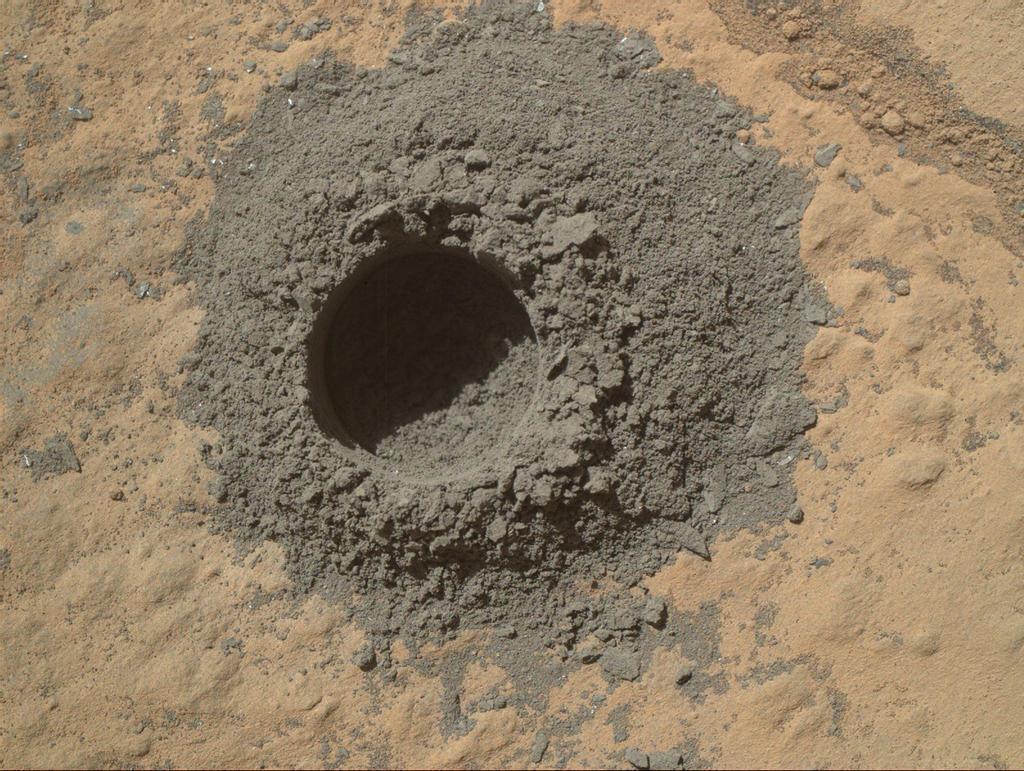 Image: Test hole