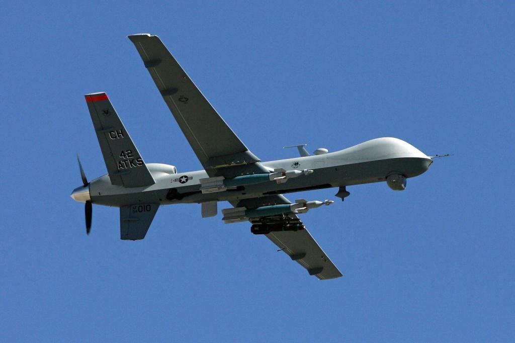 Image: An MQ-9 Reaper drone