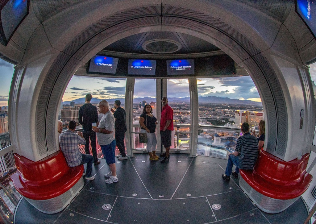 Image: View form the High Roller