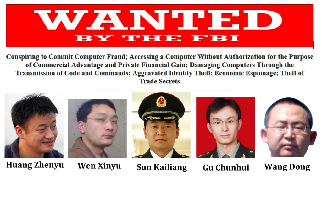 Image: US-CHINA-JUSTICE-CYBER-IT-CRIME
