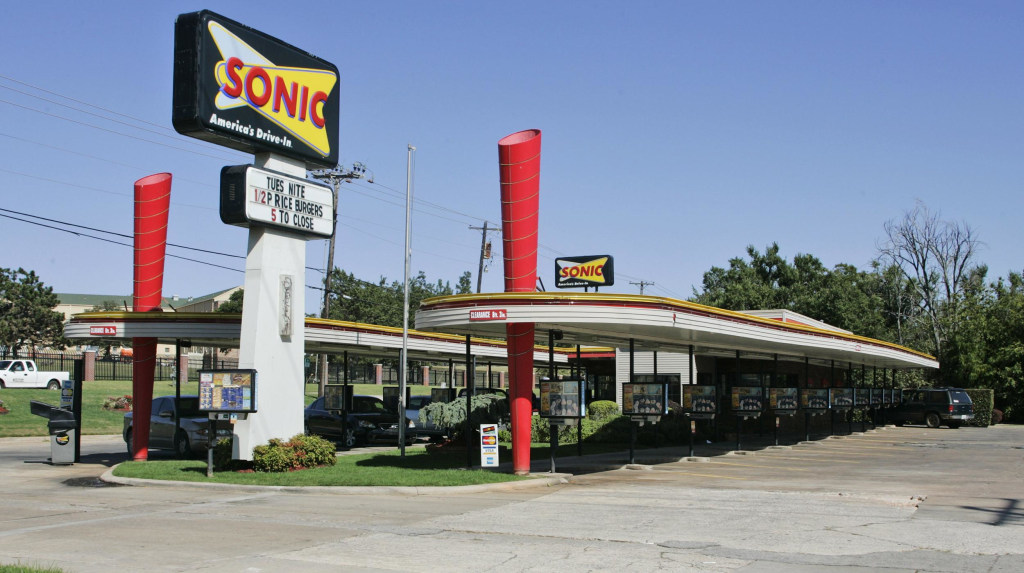 Image: A Sonic Restaurant in Oklahoma City