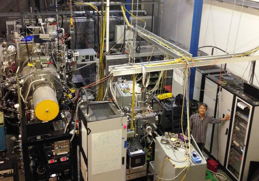 Image: EMC2 Fusion lab