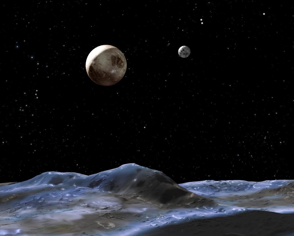 Image: Pluto and Charon