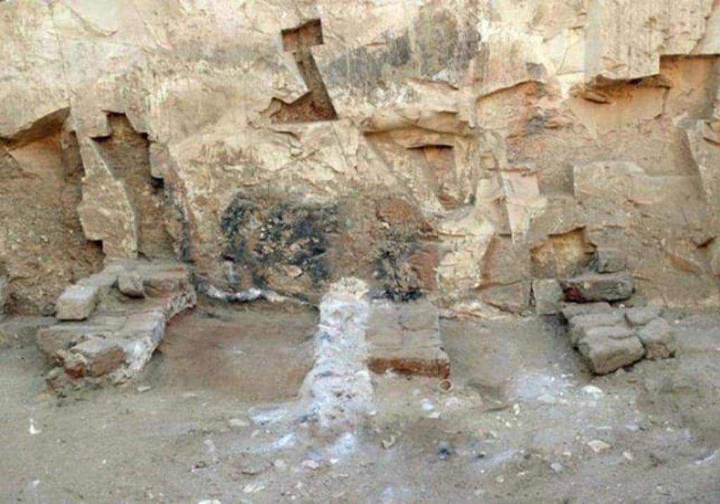 Image: Remains of kiln