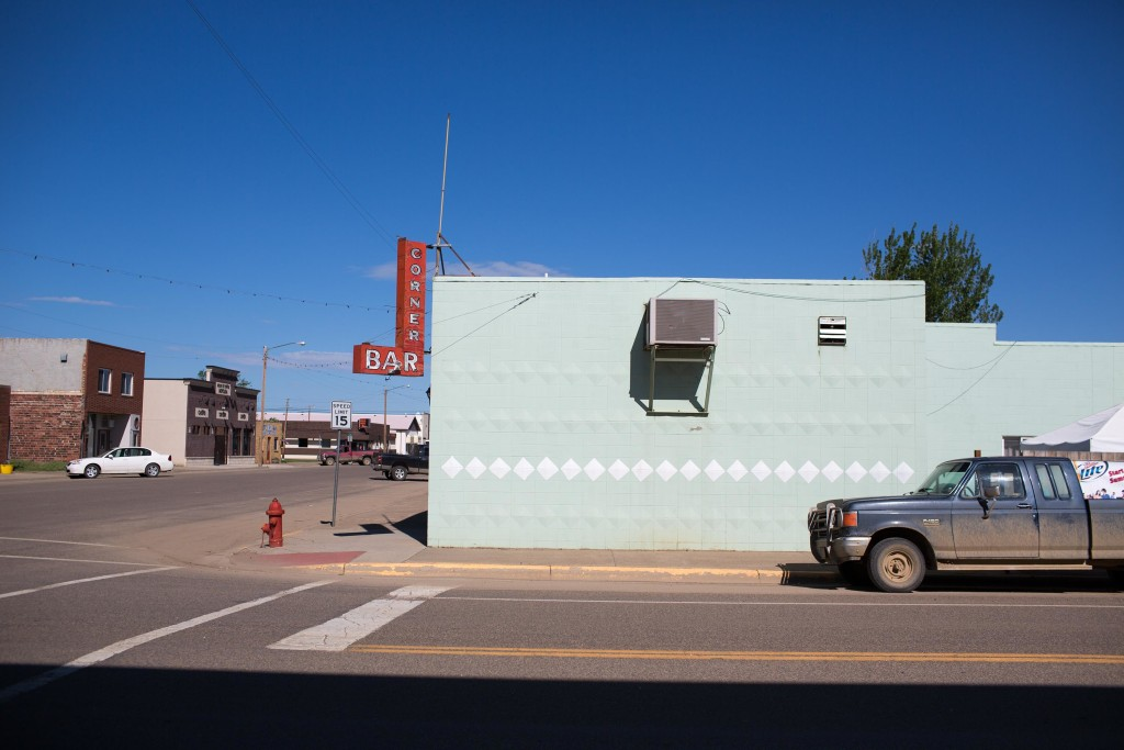 Image: The Corner Bar on Main Street in Circle, Mont.