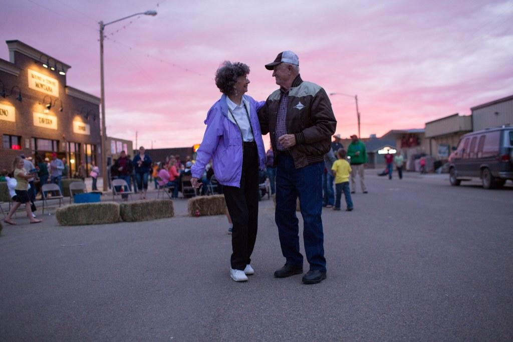 Image: Dancing on Main Street