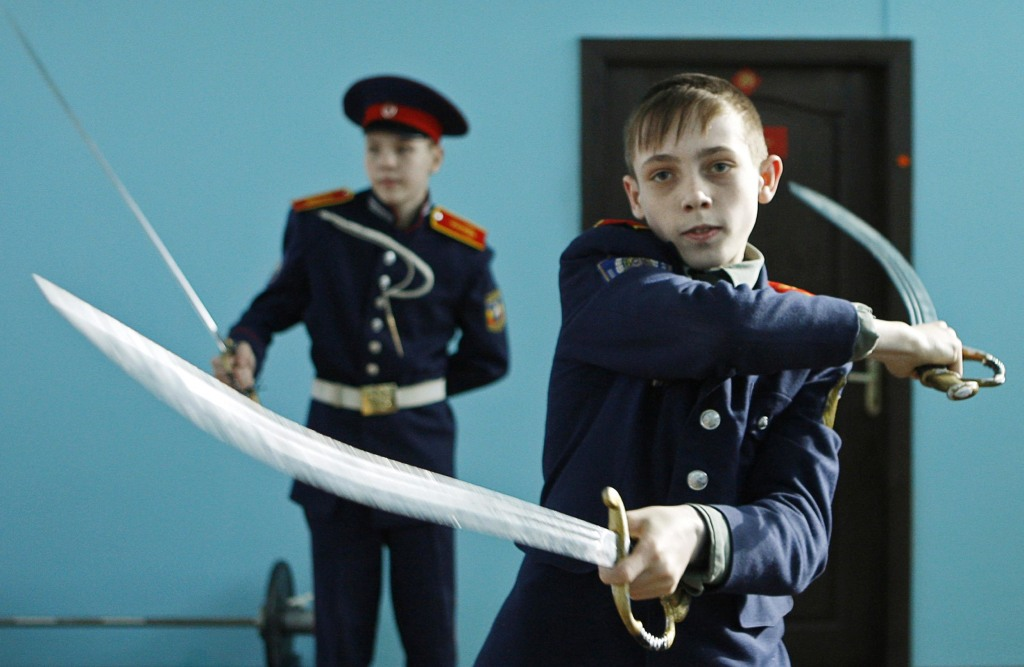 Image: Cossack school