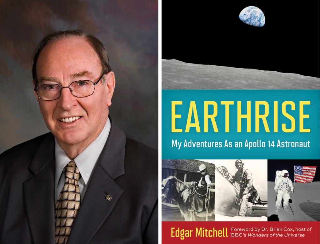 "Image: Edgar Mitchell and ""Earthrise"""