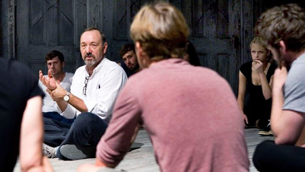 Image: Kevin Spacey teaches 20 actors at The Old Vic