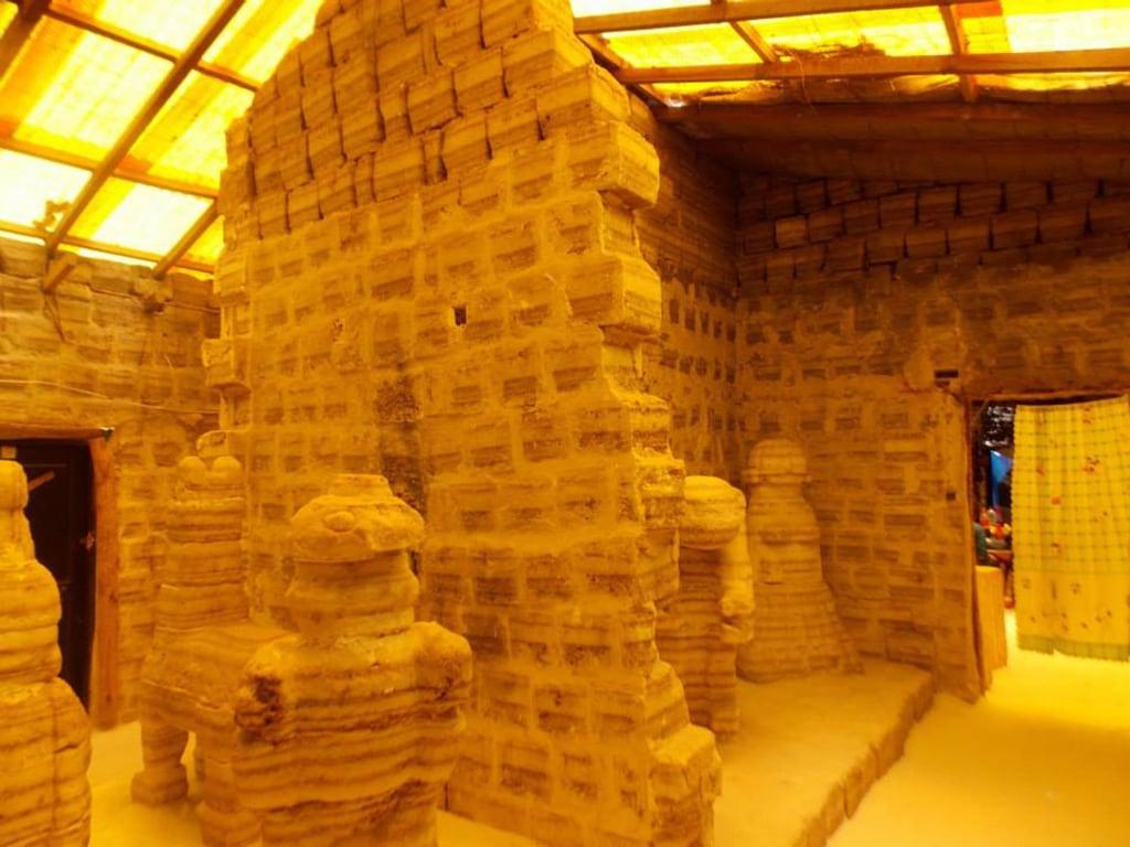 Image: Hotel-Museo del Sal in Salar de Uyuni.