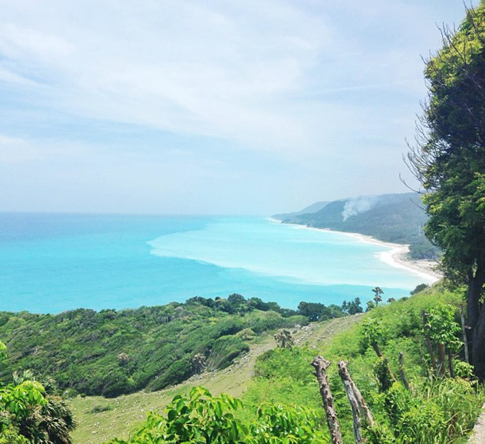 Image: A view of the beach in Barahona, Dominican Republic.