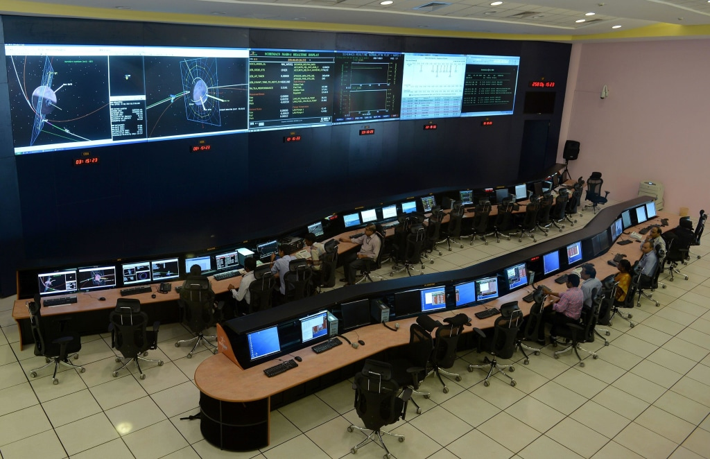 Image: ISRO Mission Control