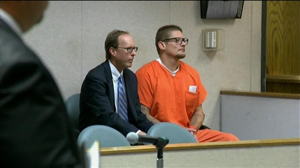 Image: Wayne Allen Huntsman, 37, was arraigned in El Dorado County Superior Court in Placerville, Calif., on Sept. 19.