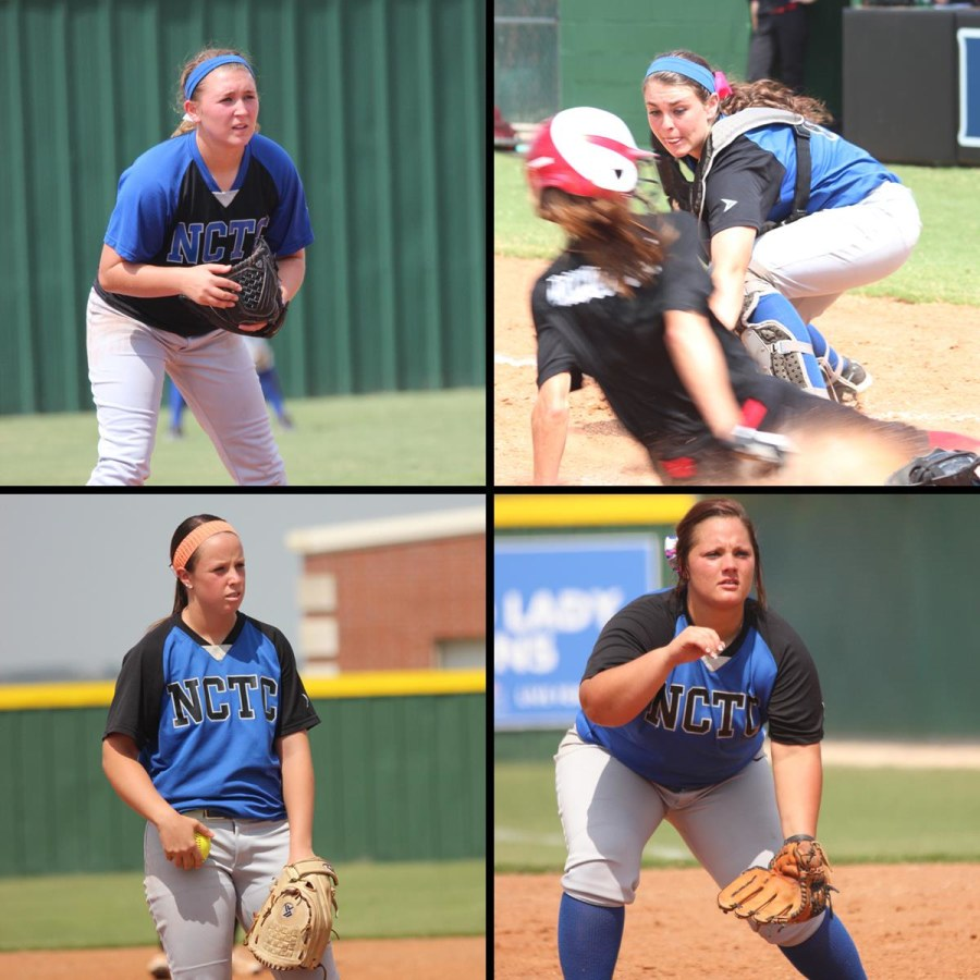 Image: Katelynn Woodlee, 18; Jaiden Pelton, 20; Brooke Deckard, 20; and Meagan Richardson, 19