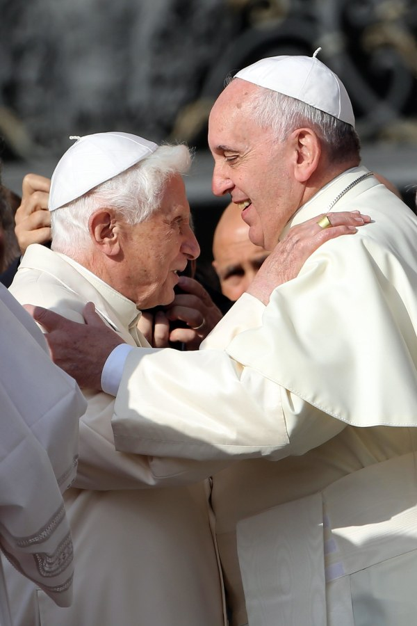 Image: Pope Francis Holds A Mass For Grandparents And The Elderly