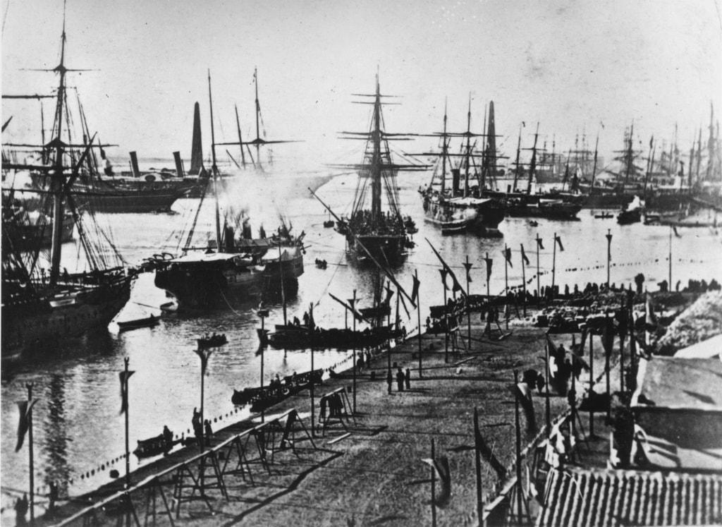 Suez Canal Opened