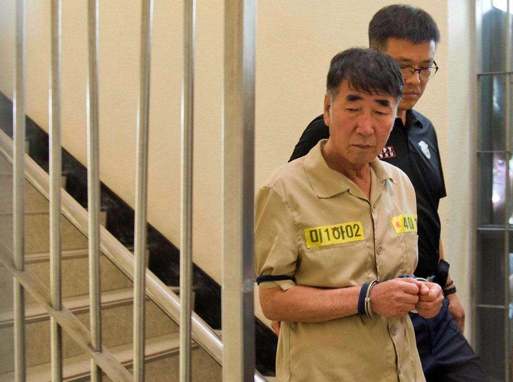 Image: Lee Joon-seok, the captain of the sunken South Korean ferry Sewol