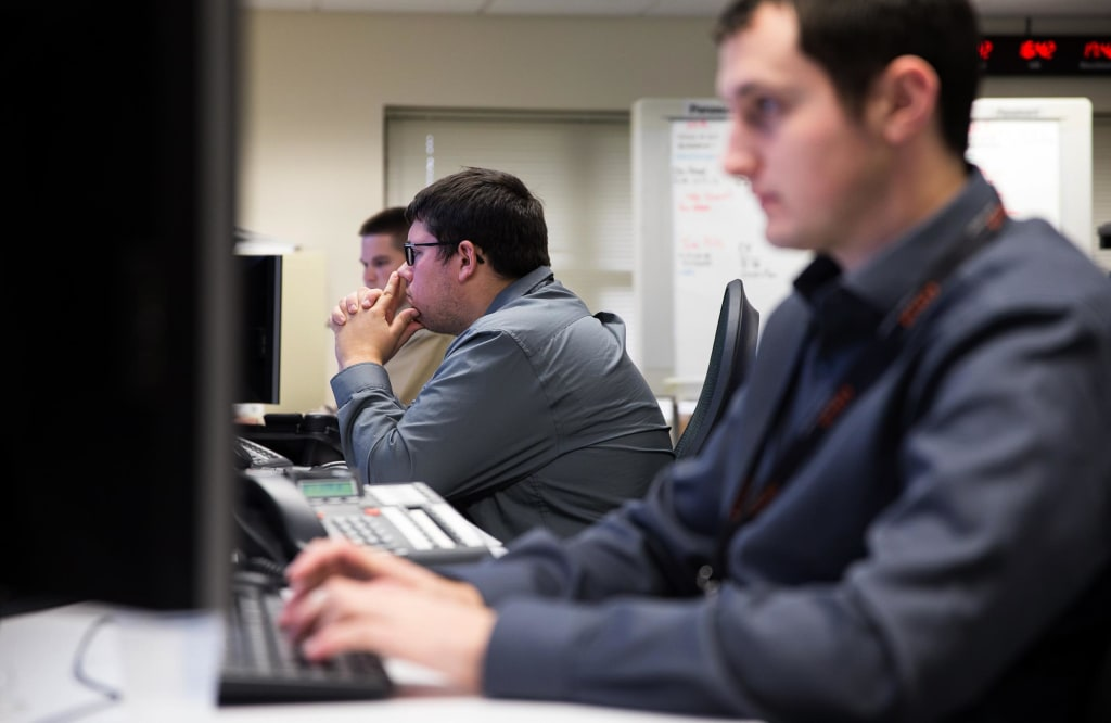 Image: The Exelis Cyber Incident Response Center resides on the property of a former air force base in upstate New York, in place to protect the military contractor from cyber attacks from around the world.