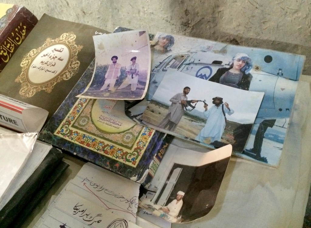 Personal photographs of Taliban militants allegedly found in Mir Ali, North Waziristan