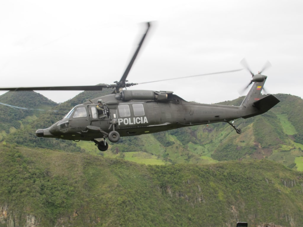 Image: Columbia National Police Helicopter