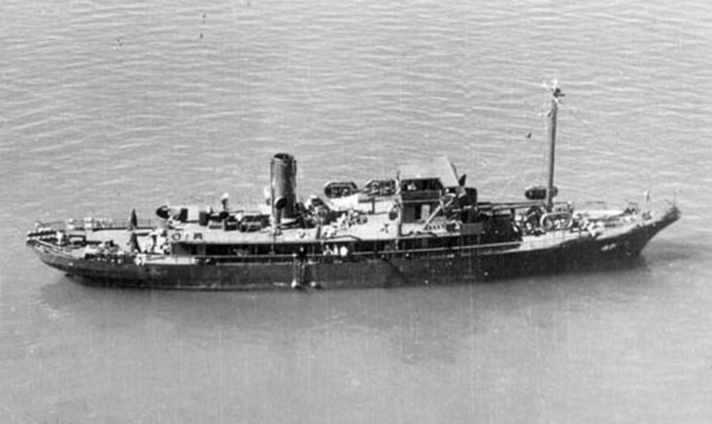 Image: USS Kailua, 1943