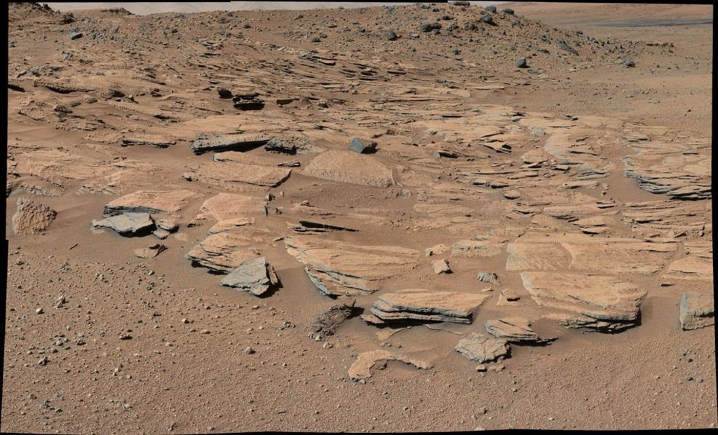 Image: Inclined beds of sandstone