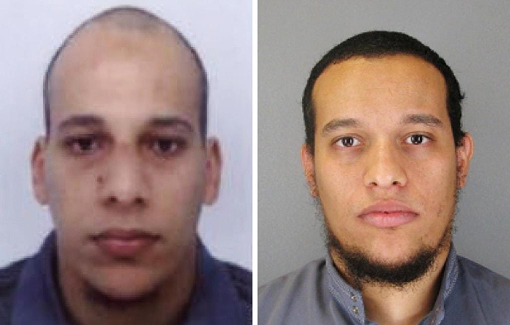 Image: Cherif Kouachi and Said Kouachi