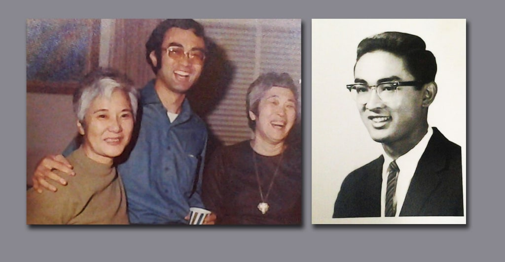 Image: Family photos of Todd Endo who marched in Washington and Selma with MLK Jr.