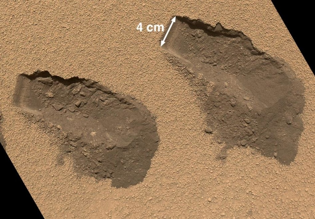 Image: Martian soil