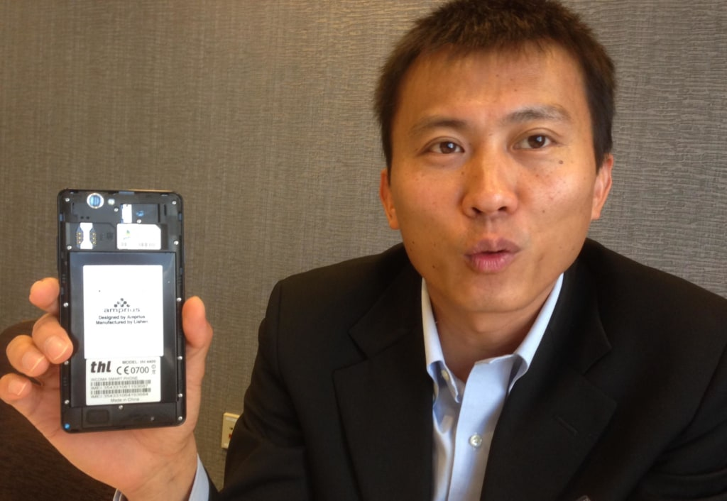 Image: Cui and THL smartphone