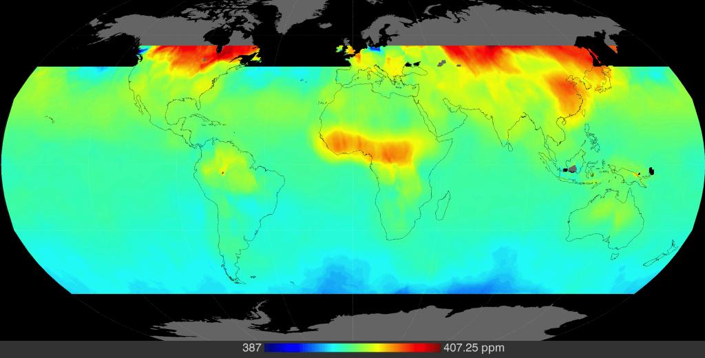 Image: CO2 map