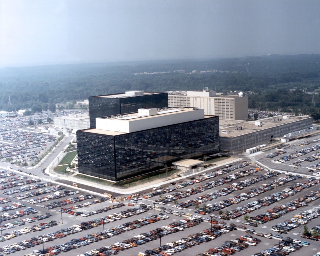 Image: NSA headquarters in Fort Meade, Maryland