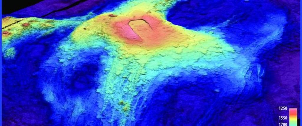 Image: Axial Seamount, an undersea volcano