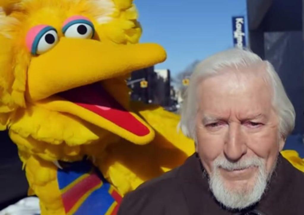 Image: Big Bird and Caroll Spinney