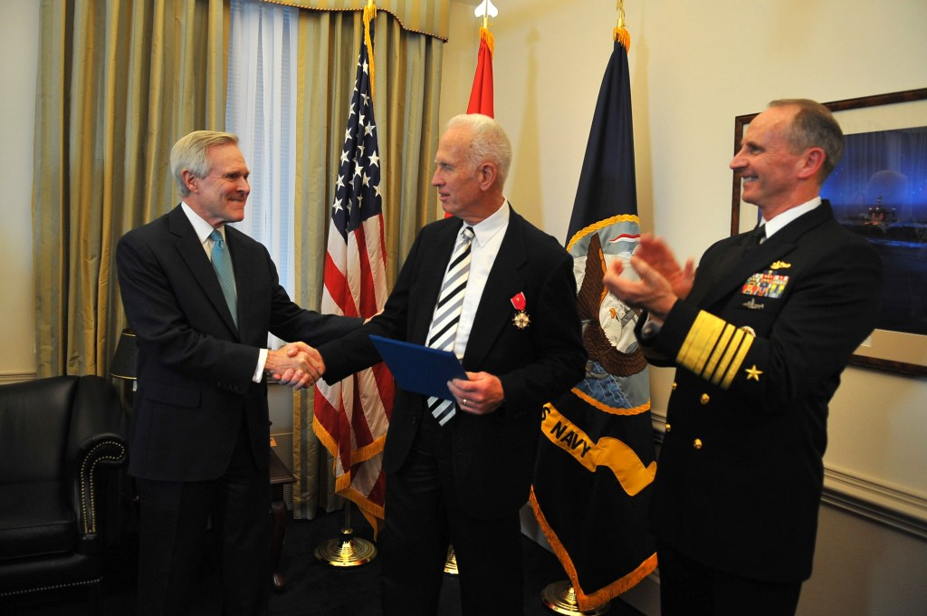 Image: Medal awarded