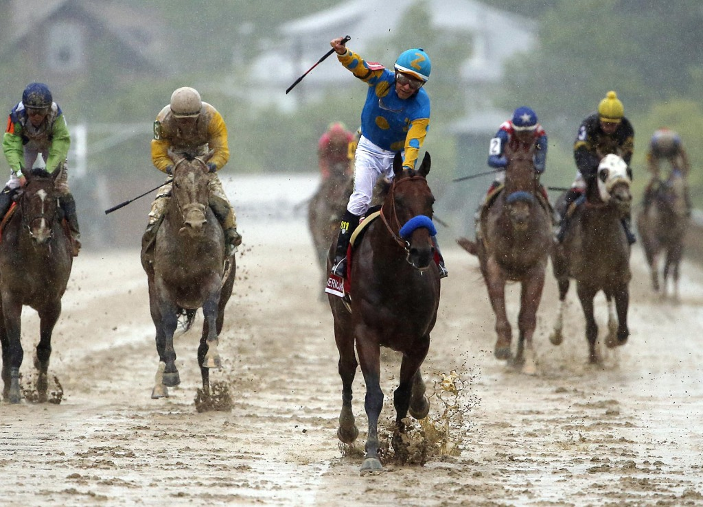 Image: Horse Racing: 140th Preakness Stakes