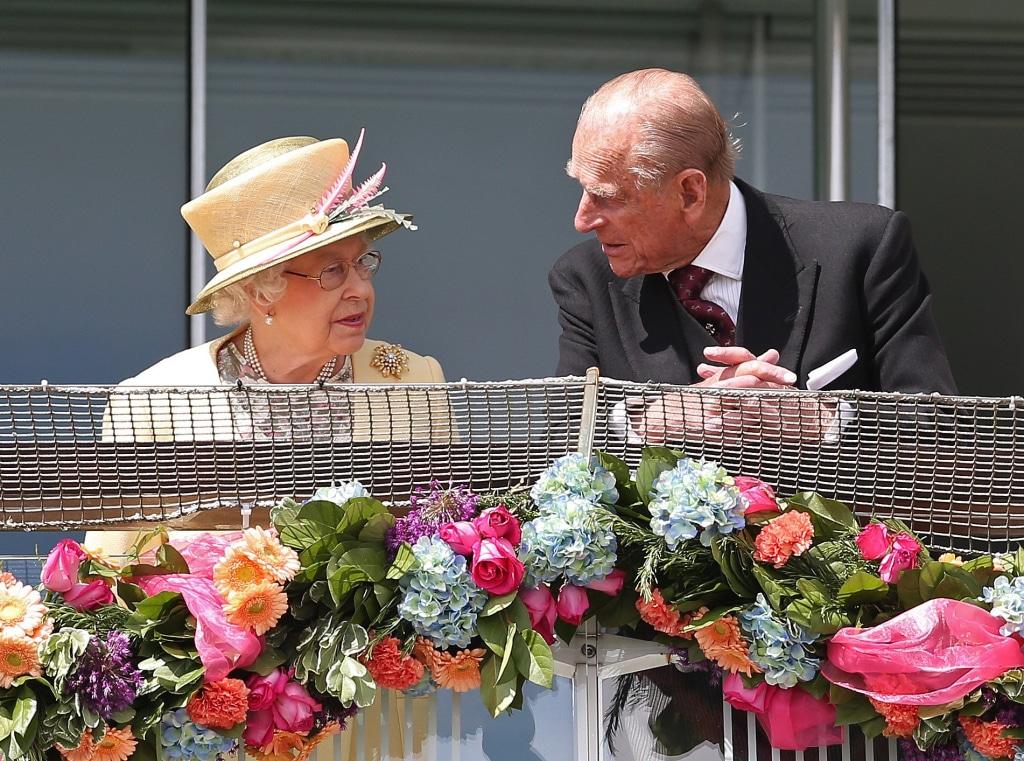 Image: Queen Elizabeth II and Prince Philip on June 6, 2015