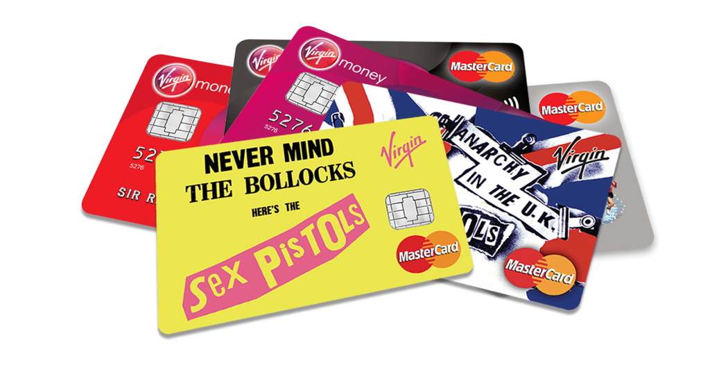 Image: Sex Pistols credit card