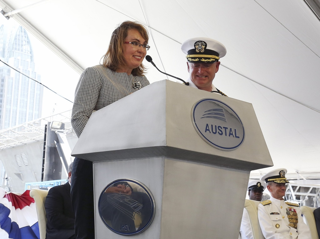 Image: LCS Gabrielle Giffords Christening