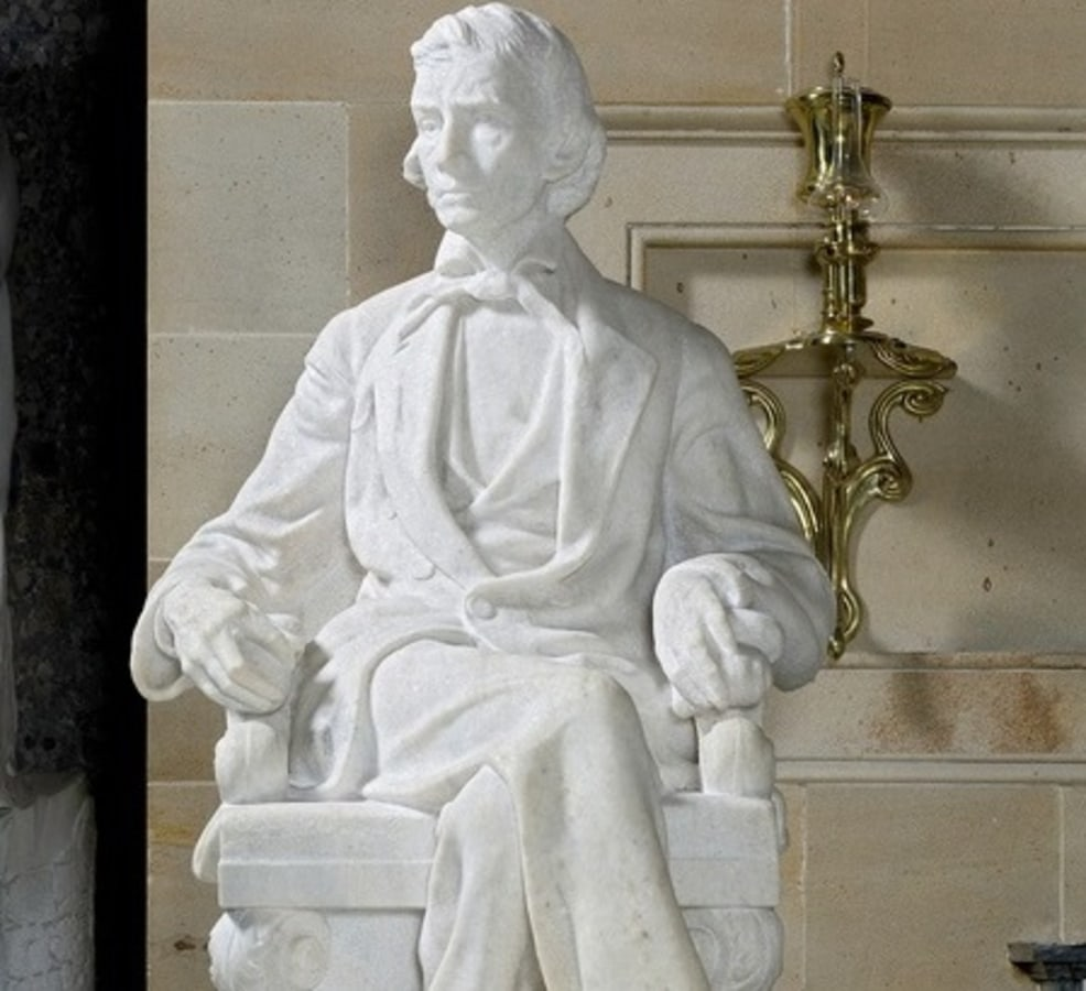 IMAGE: Statue of Alexander Hamilton Stephens