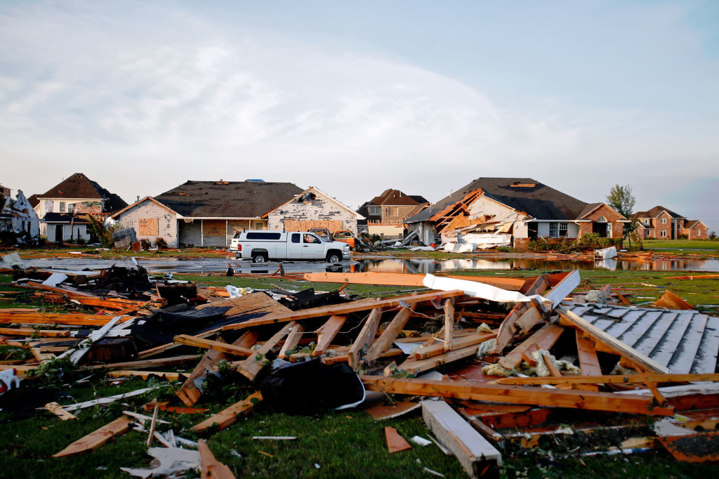 Image: Central Illinois Hit With Severe Tornados
